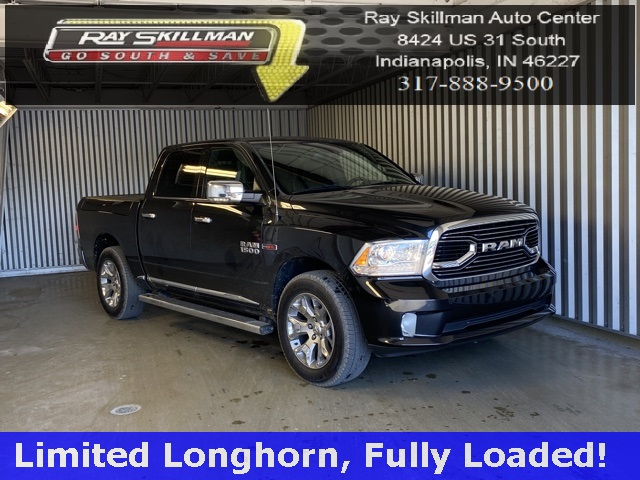 Pre-Owned 2016 Ram 1500 LIMITED LONGHORN