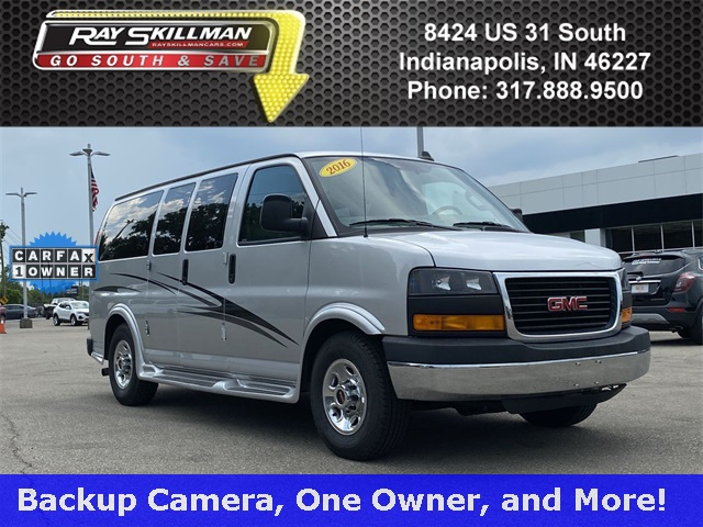 Pre-Owned 2016 GMC Savana 2500 Work Van
