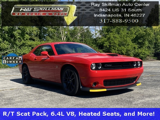 Pre-Owned 2020 Dodge Challenger R/T Scat Pack