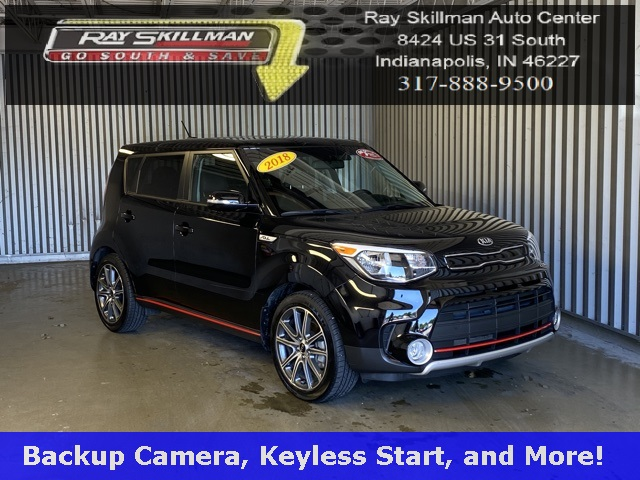 Pre-Owned 2018 Kia Soul Exclaim
